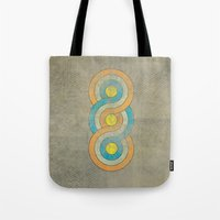 infinite Tote Bags featuring Infinite by Metron