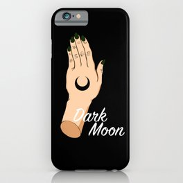 Dark Moon iPhone Case
