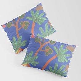 Jungle Klein Blue Pillow Sham