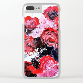 The Roses Are Bleeding Clear iPhone Case
