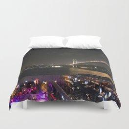 Istanbul Lights! Duvet Cover