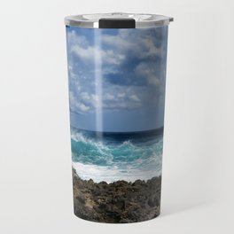 Caribbean Waves Travel Mug