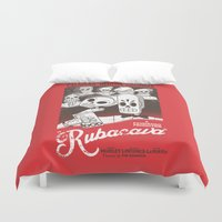 casablanca Duvet Covers featuring Rubacava by Hoborobo