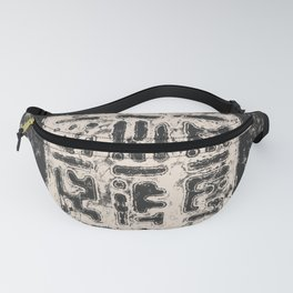 Cryptic Space Glyphs I Fanny Pack