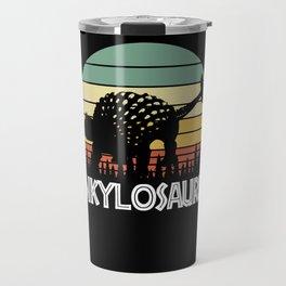 Ankylosaurus Travel Mug
