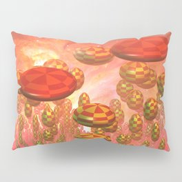 Fantasy alien garden Pillow Sham