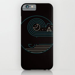 Moonlight Companions iPhone Case
