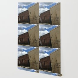 Stop being boring brick wall Alabama Wallpaper