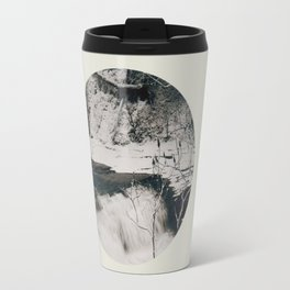 Winter Falls Circular Travel Mug
