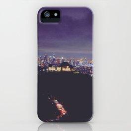 Tinseltown iPhone Case
