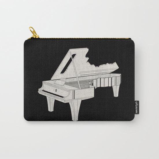 Music Is The Key. Carry-All Pouch