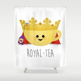 Royal-tea Shower Curtain