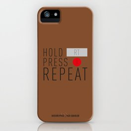PAUSE – Trails iPhone Case