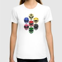 power rangers T-shirts featuring Mighty Morphin Power Rangers by Some_Designs