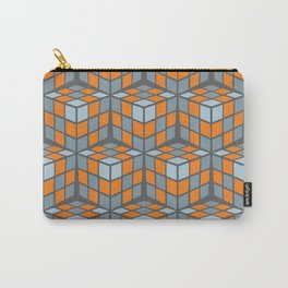 cascade - orange Carry-All Pouch