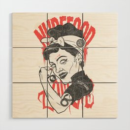 Pain Gang Wood Wall Art