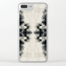Pattern No. 67 Clear iPhone Case