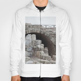 Arch and stones in Ruins Hoody