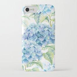 Blue Hydrangea iPhone Case