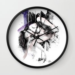 Shibari - Japanese BDSM Art Painting #11 Wall Clock