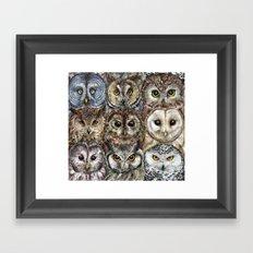 Owl Optics Framed Art Print