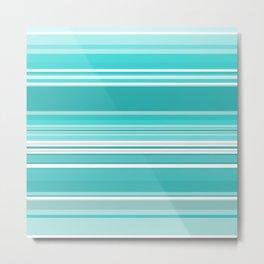 Gradient blue Metal Print