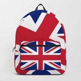 UK Flag, 3:5 Scale Backpack