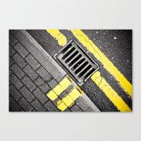 grid Canvas Prints featuring Grid by premedia