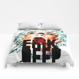 TOILET CLUB #erikdeep Comforters