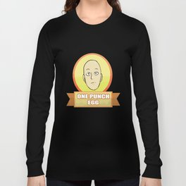 one punch egg Long Sleeve T-shirt