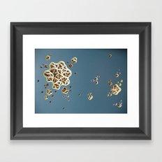 Drag-a-Diddle Cirrhosis Framed Art Print