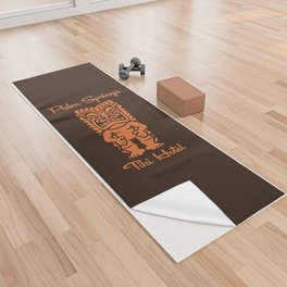 Tiki Hotel Logo Yoga Towel