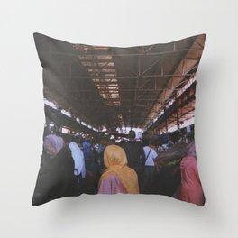 Souk, Agadir Throw Pillow