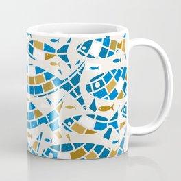 Mosaic Fishes Coffee Mug