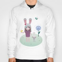 friendship Hoodies featuring Friendship by Esther Ilustra