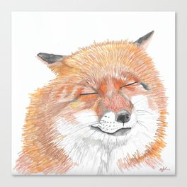 Fox Dreams Canvas Print