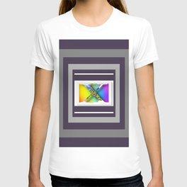MONOGRAM INITIAL X FLORAL T-shirt