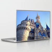 castle Laptop & iPad Skins featuring Castle by Jillian Stanton