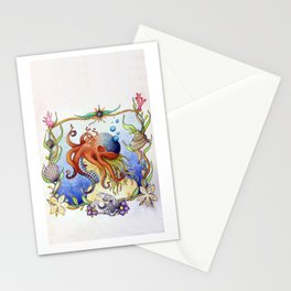 Octopus Wench Stationery Cards