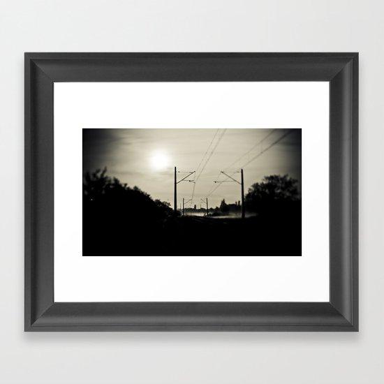 Further Away Framed Art Print