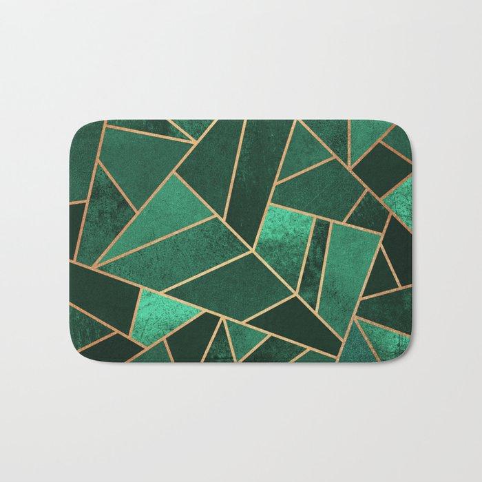 Emerald and Copper Badematte