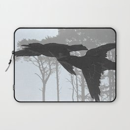 Crow Goes Hunting Laptop Sleeve