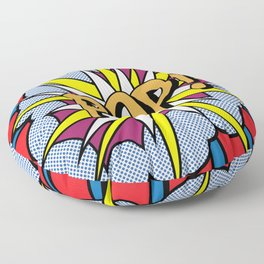 POP Art Exclamation Floor Pillow