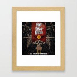 Hail Of Stroopwafels Framed Art Print