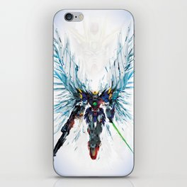 Winged Robot iPhone Skin