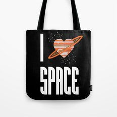I Heart Space Tote Bag