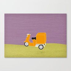 Enjoy The Ride Truck Canvas Print