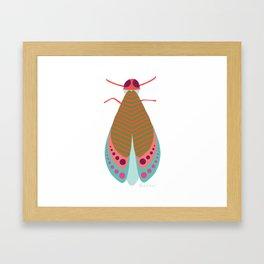 Fall Moth Framed Art Print