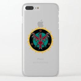 Thunderbird Clear iPhone Case