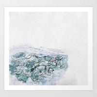 Monet's Morning Art Print